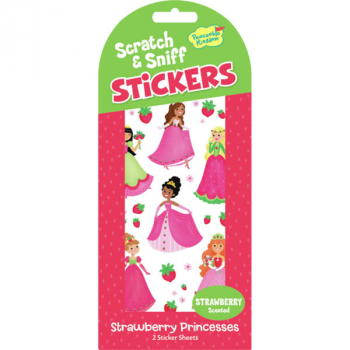 Strawberry Princesses Scratch & Sniff Stickers