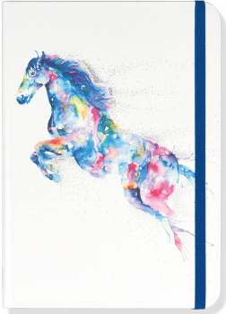Watercolor Horse Journal (Small Format Journal)