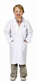 Junior Lab Coat 3/4 Length - size 8/10