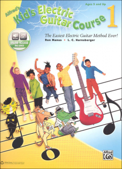 Alfred's Kid's Electric Guitar Course Book 1 & Online Audio