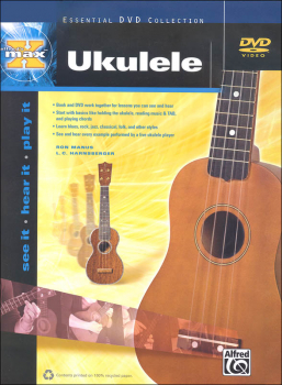 Alfred's Max Ukulele Course Book & DVD