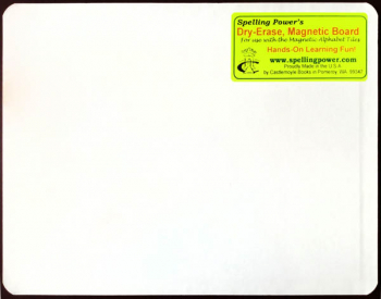 Spelling Power Dry-Erase Board