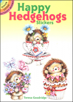 Happy Hedgehogs Stickers