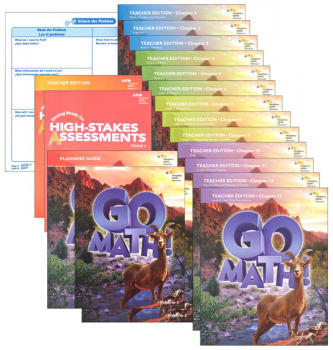 Go Math! National Homeschool Package Grade 6