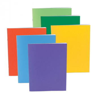 "Bright Blank Books Assorted Colors (2 3/4"" x 4 1/4"") Package of 10"
