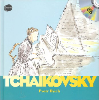 Pyotr Ilyich Tchaikovsky with CD