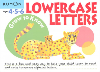 Grow to Know Lowercase Letters Workbook (Pre-K)