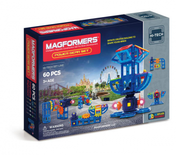 Magformers - Power Gear (60 Piece Set)