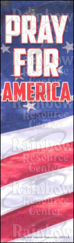 Pray for America Bookmark