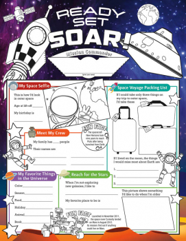 Ready Set Soar! Fill Me In Activity Poster
