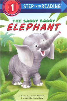 Saggy Baggy Elephant (Step Into Reading Level 1)