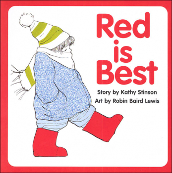 Red is Best Board Book