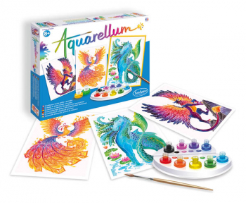 Aquarellum Large - Mythical Animals