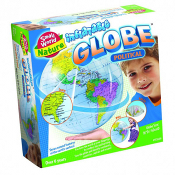 Inflatable Political Globe (Small World Nature)