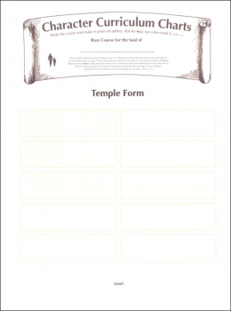Building Christian Character Set of Annual Charts & Forms