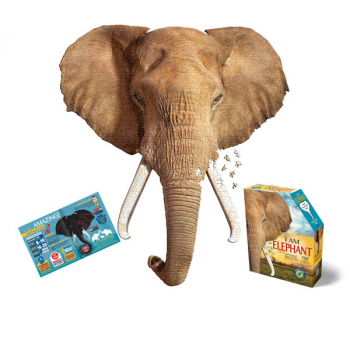 I AM Elephant Shaped Jigsaw Puzzle - 700 pieces