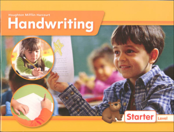 Houghton Mifflin Harcourt International Handwriting Continuous Stroke Student Edition Grade K