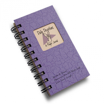 Daily Devotions: A Prayer Journal - Write it Down Mini Size Color Collection 160-page Journal