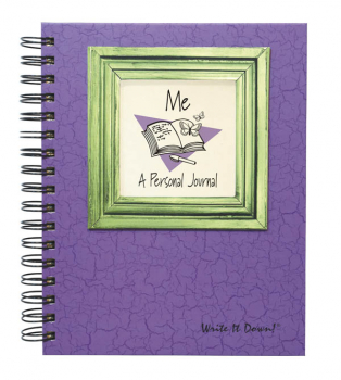 Me: A Personal Journal - Write it Down Full Size Color Collection 200-page Journal