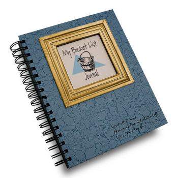 My Bucket List: Journal - Write it Down Full Size Color Collection 200-page Journal