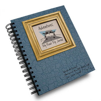 Adventures: My Road Trip Journal - Write it Down Full Size Color Collection 200-page Journal