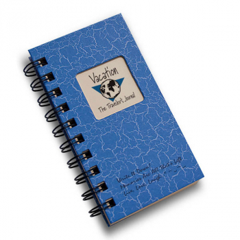 Vacation: The Traveler's Journal - Write it Down Mini Size Color Collection 160-page Journal