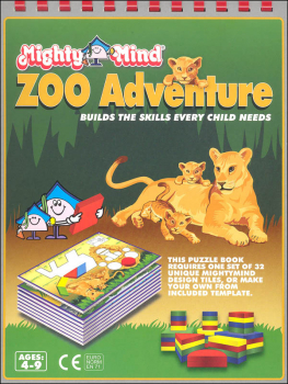 Mighty Mind Zoo Adventure Design Book