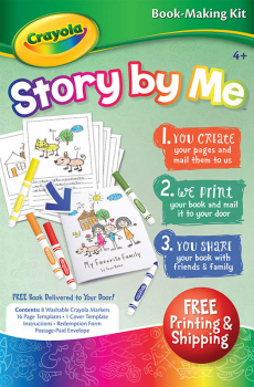 Crayola Story by Me Softcover Kit
