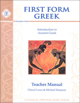 First Form Greek Teacher Manual
