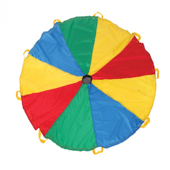 Funchute Parachute - Yellow/Red/Blue (6 foot)