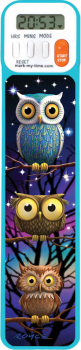 Mark-My-Time Digital Bookmark 3D Owl