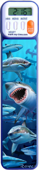 Mark-My-Time Digital Bookmark 3D Shark