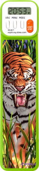 Mark-My-Time Digital Bookmark 3D Tiger