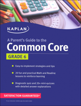 Parent's Guide to the Common Core: Grade 6