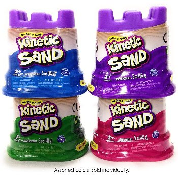 Kinetic Sand Single Container(Assorted)4.5 oz