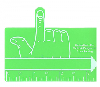 Green One Finger Spacer