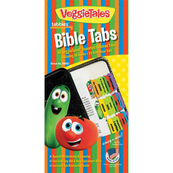 Bible Indexing Tabs - VeggieTales