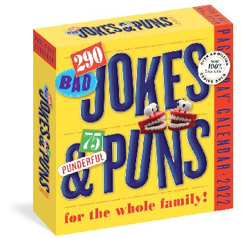 290 Bad Jokes & 75 Punderful Puns 2021 Page-A-Day Calendar