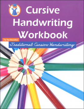 Cursive Handwriting Workbook: Traditional Cursive Handwriting
