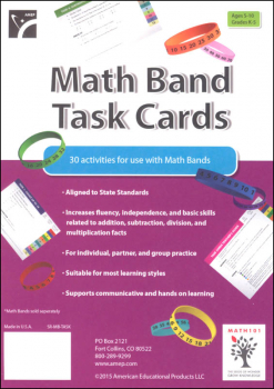 Math Bands Task Cards