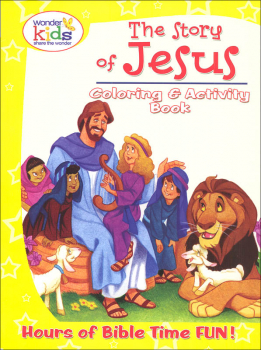 Story of Jesus Coloring and Activity Book