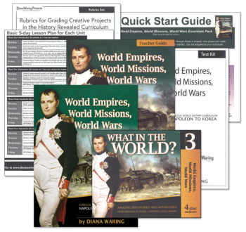 World Empires, World Missions, World Wars Essentials Pack
