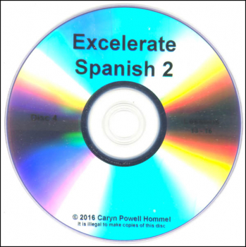 Excelerate Spanish 2 DVD Lessons 13-16