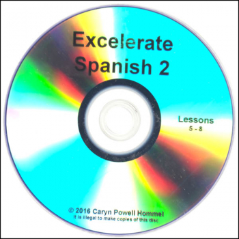 Excelerate Spanish 2 DVD Lessons 5-8