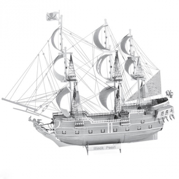 Black Pearl ICONX 3D Metal Model Kit