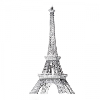 Eiffel Tower ICONX 3D Metal Model Kit