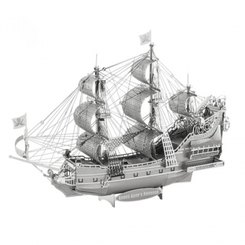 ICONX 3D Metal Model Kit: Queen Anne's Revenge