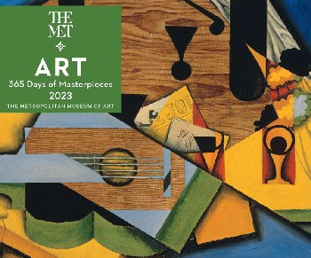 Art: 365 Days Masterpieces 2021 Desk Calendar