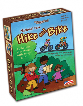 National Park Hike & Bike Card Game