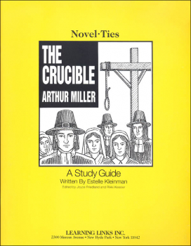 Crucible Novel-Ties Study Guide